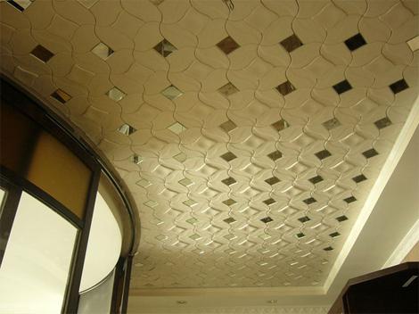 Фото дизайн потолочная плитка